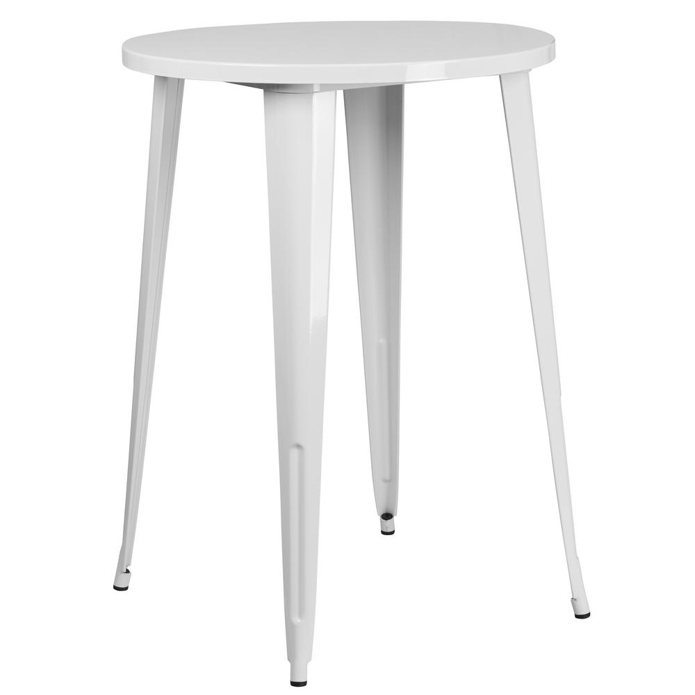 wrought iron patio tables furniture the flash outdoor bistro jackson accent table white round metal small square with drawer side storage dining room edmonton antique chairs
