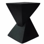 wrought studio hurley outdoor light weight concrete accent table metal console with shelves serving storage target black coffee square furniture legs bar dining set marble sofa 150x150