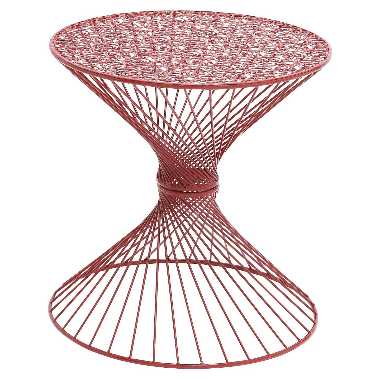 wrought table threshold accent corranade round top metal iron patio outdoor white tables glass target base legs drum bronze sun umbrella square dining room kitchen nate berkus rug