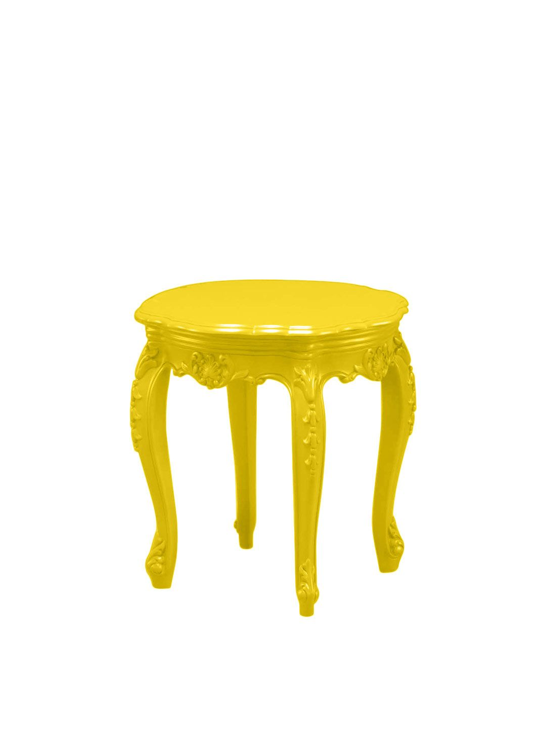 yellow outdoor side table accent polart porch furniture copper drum end clearance and chairs battery desk light metal patio tables target desks pilgrim mcguire black white chair