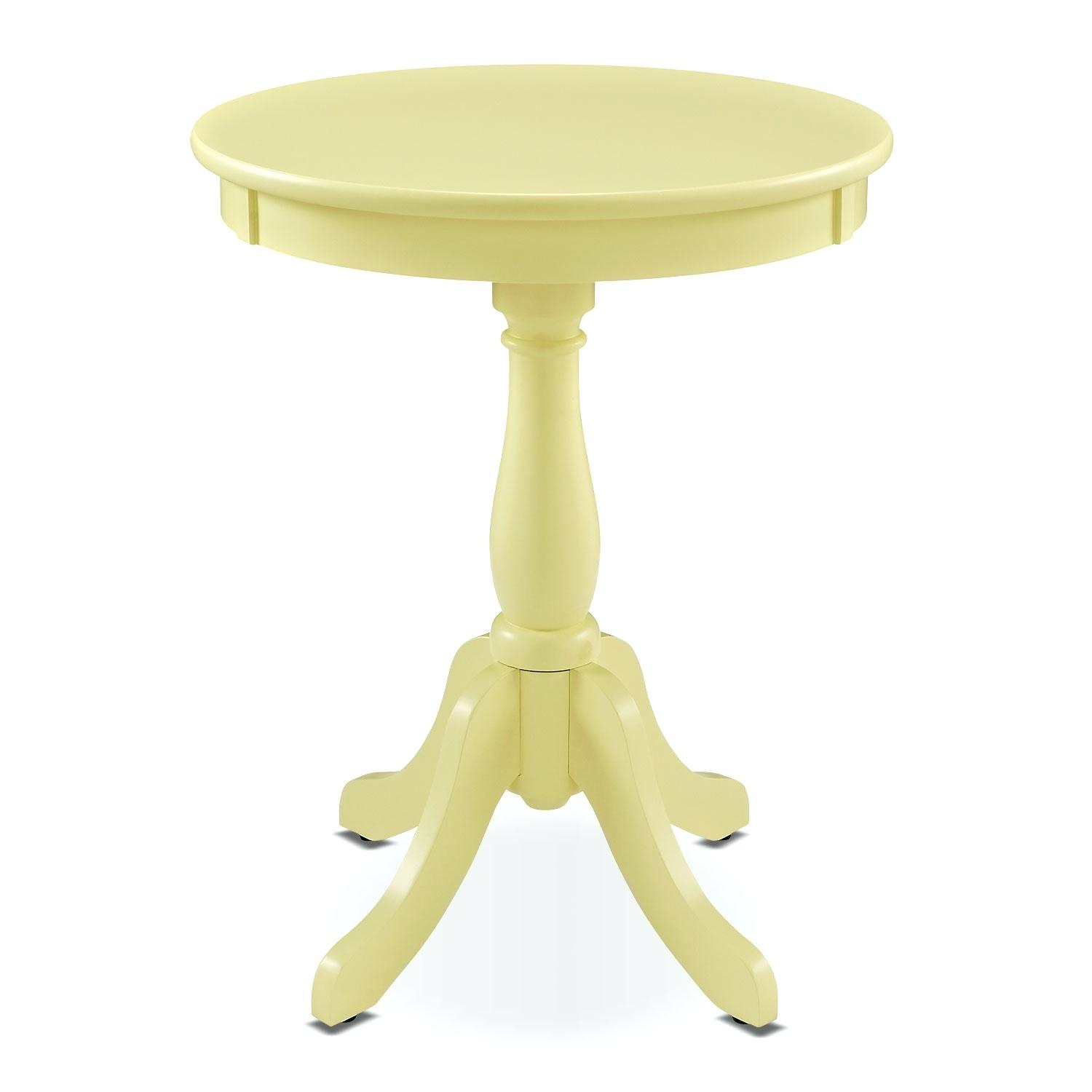 yellow side table nesting round iron stools set two accent and occasional furniture target threshold gold umbrella base folding patio end extra wide sofa baroque chair cool lamps