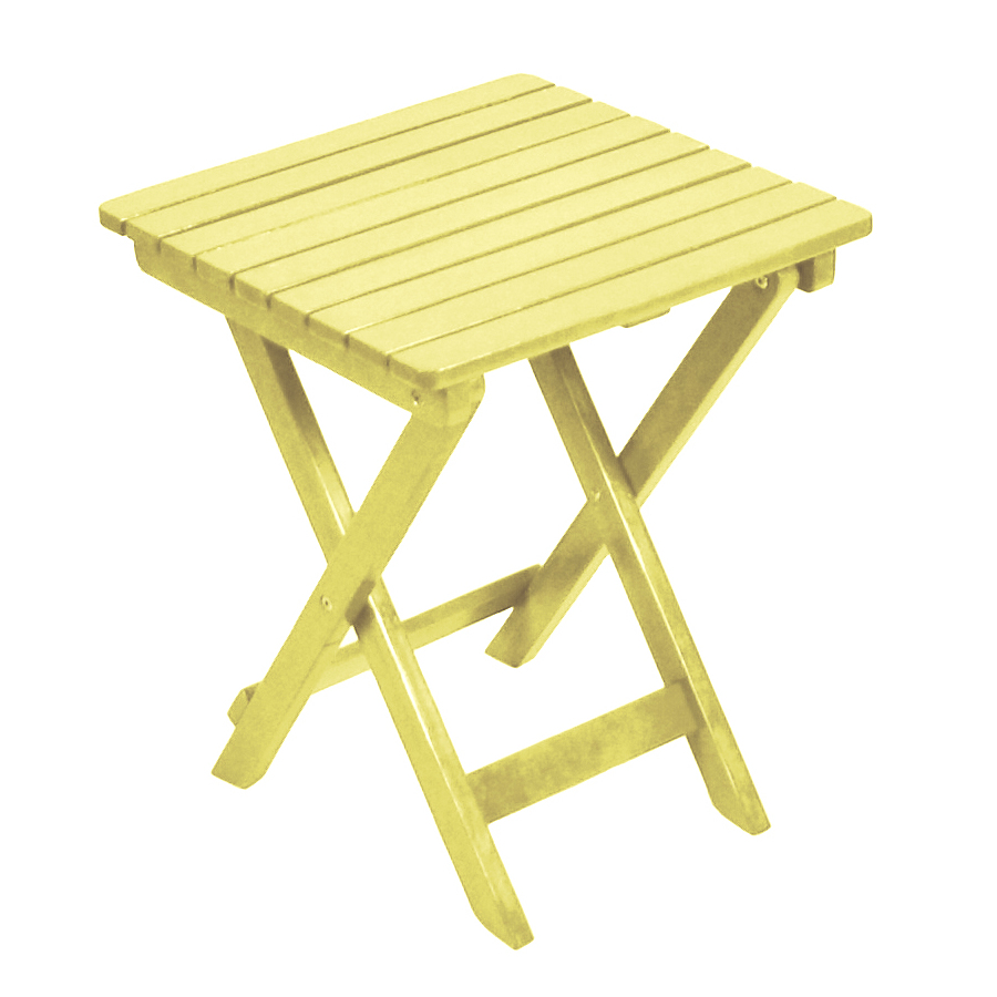 yellow wood square patio side table outdoor accent white upholstered dining room chairs copper drum end industrial look bedside tables battery desk light new coffee cherry target