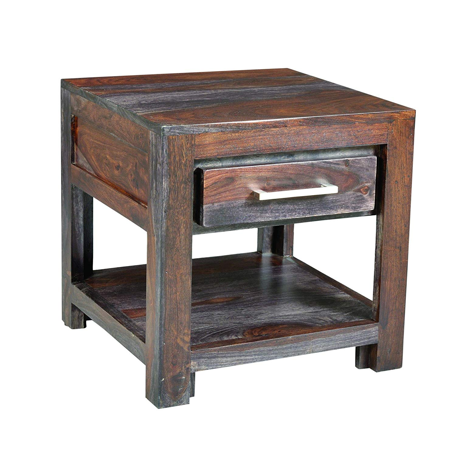 yosemite home decor yfur rosewood end table accent kitchen dining farmhouse breakfast plastic nic tables side height half round fabric chair clearance patio furniture sets ikea
