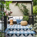 you need see these transformative backyard before afters bella green mosaic outdoor accent table this how transform your pergola tiles patio decor inch furniture legs extra wide 150x150