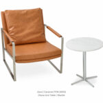 zara contemporary occasional armchairs concept caramel diana end marble accent table plastic ice bucket steel coffee legs oak threshold trim modern wood and metal cube target 150x150