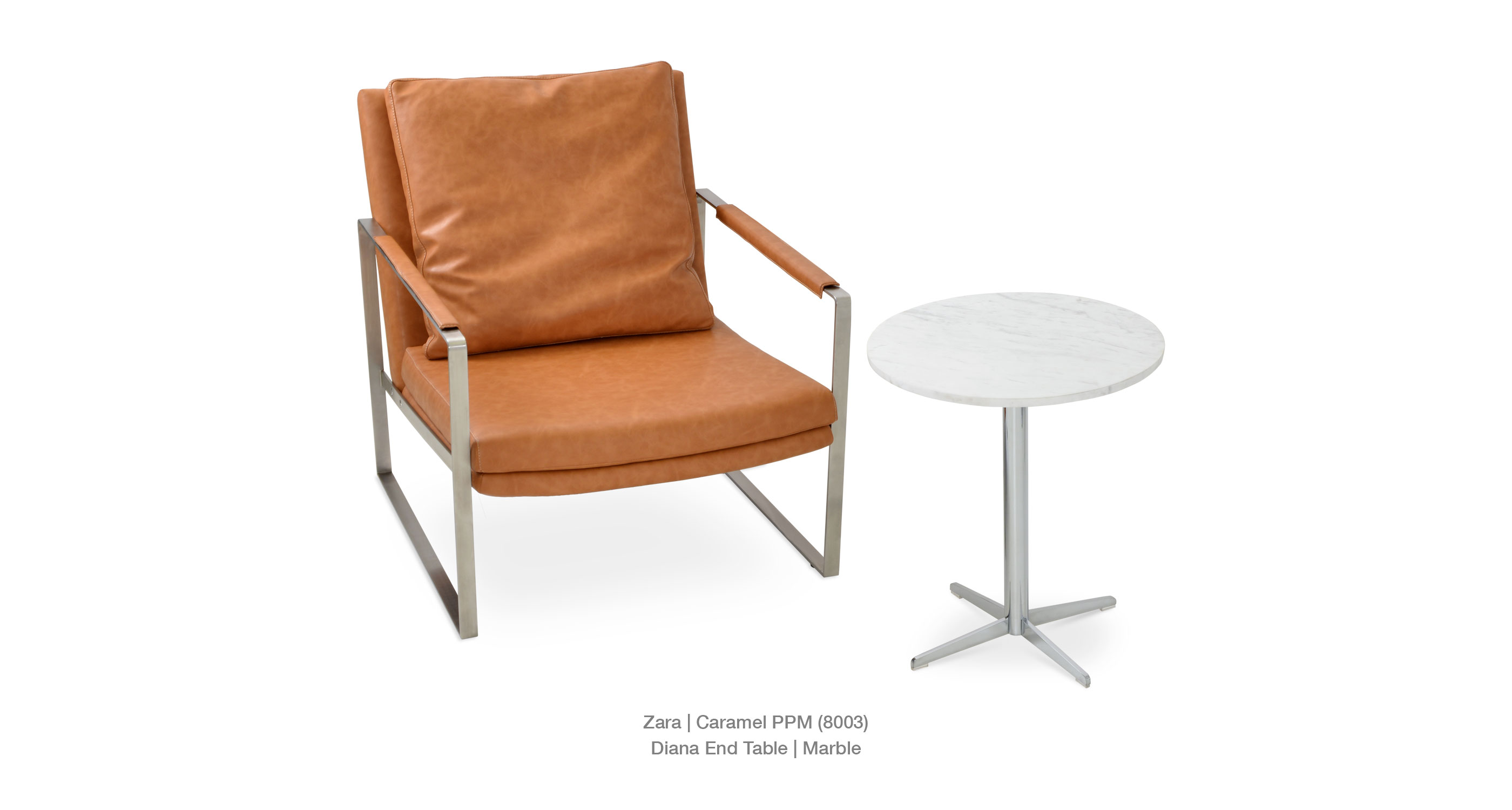 zara contemporary occasional armchairs concept caramel diana end marble accent table plastic ice bucket steel coffee legs oak threshold trim modern wood and metal cube target