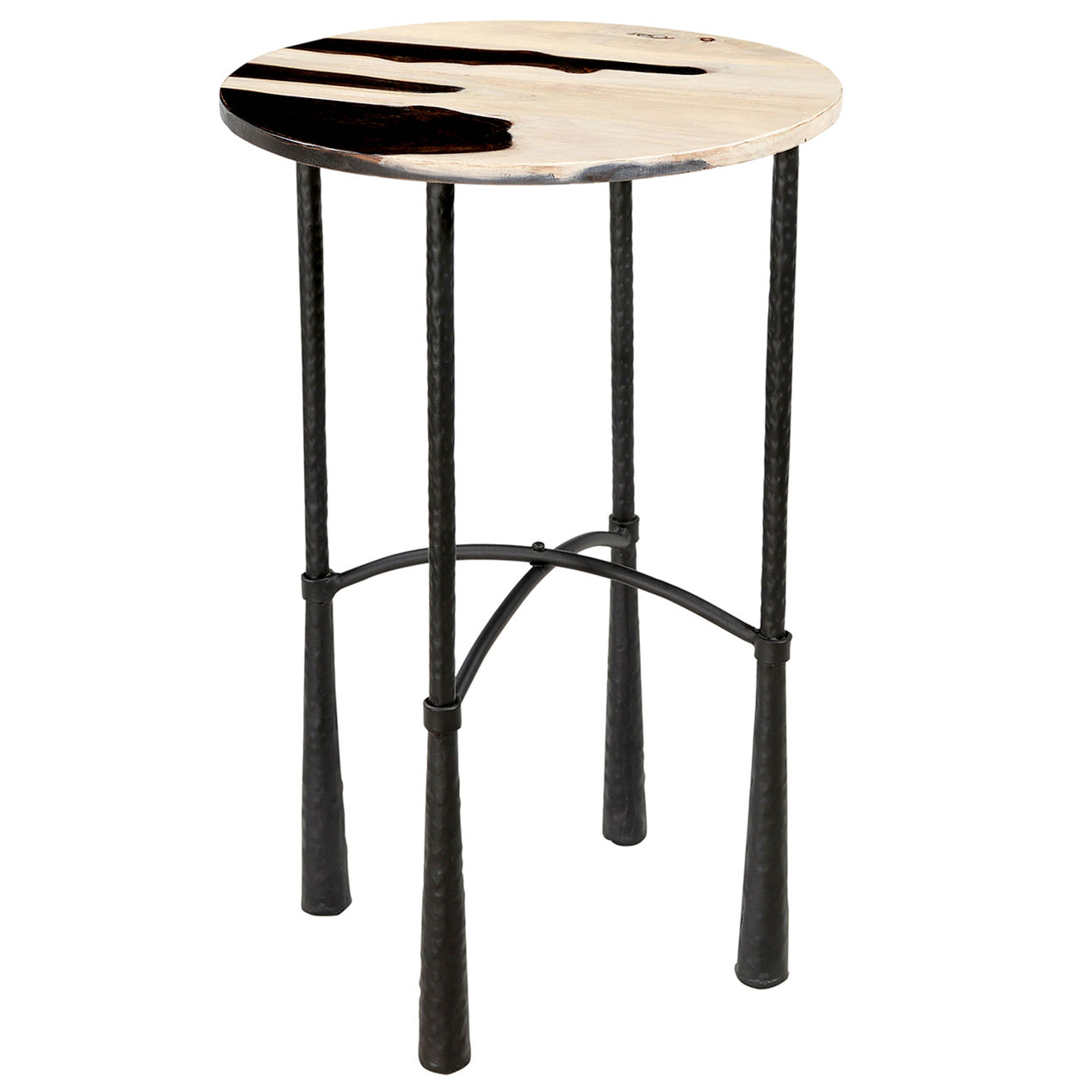 zebra accent table home cherry wood dinner pier one dining room tables west elm knock off wall mounted narrow rectangular side piece modern interior design ideas teal coffee vitra