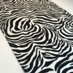 zebra print table runner accent mat etsy fullxfull black counter height faux marble end piece set wood with metal legs sofa covers kmart west elm small iron knock off cherry 150x150