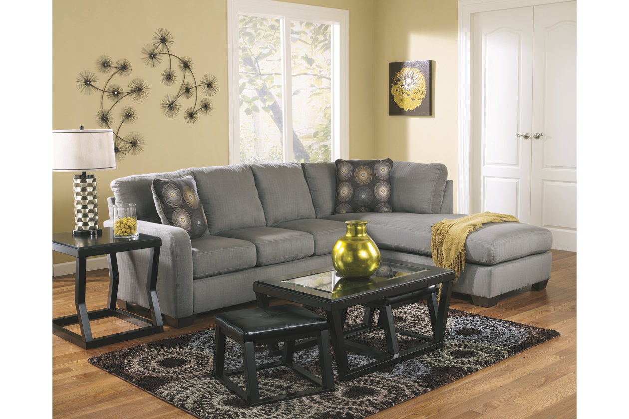 zella piece sectional with chaise ashley furniture home clear acrylic accent table homepop metal small glass lamp sheesham sofa center counter height dining bench linens rod iron