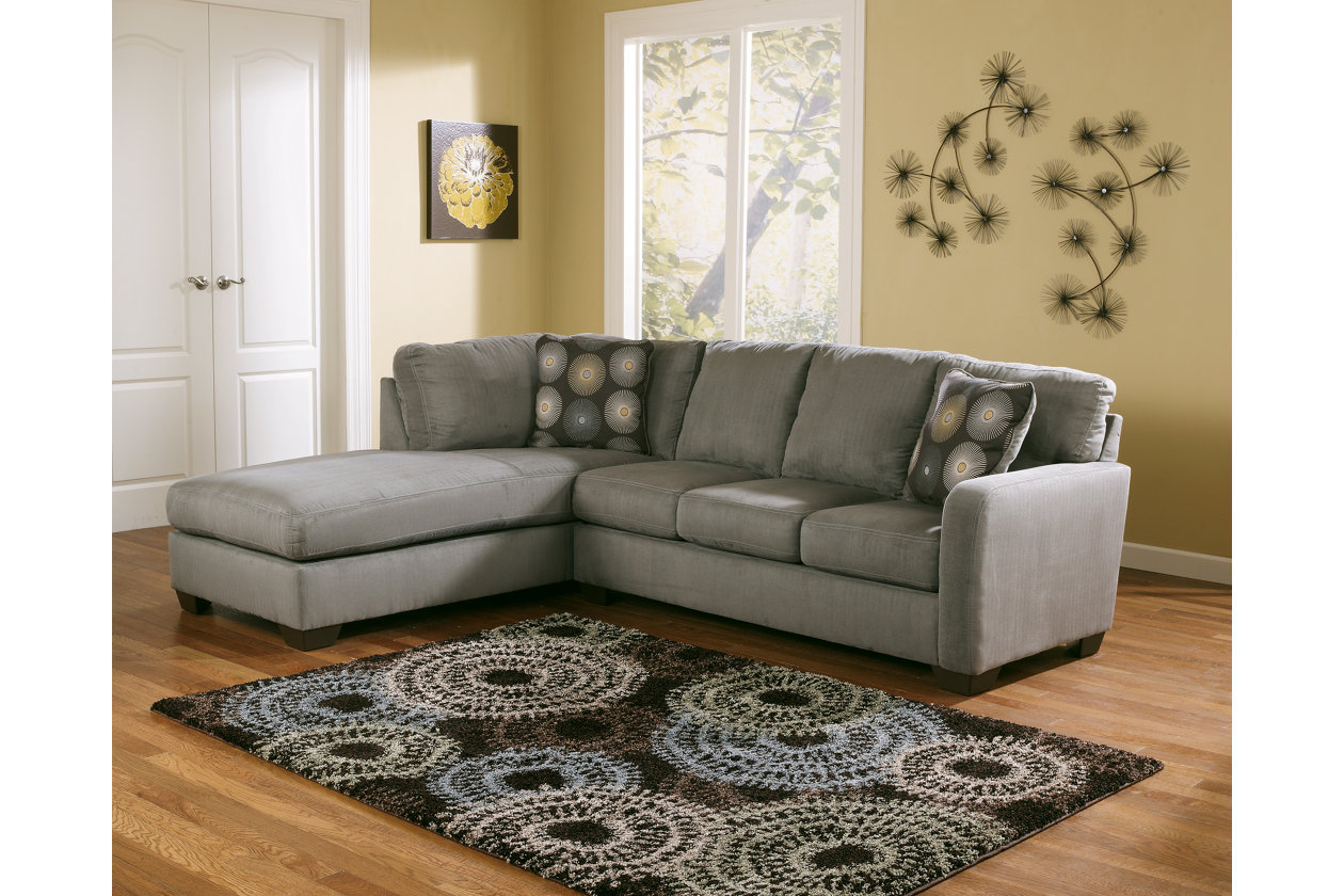 zella piece sectional with chaise ashley furniture home clear acrylic accent table sofa center goods tables slate end umbrella pier one wall clocks sheesham side steel navy linens