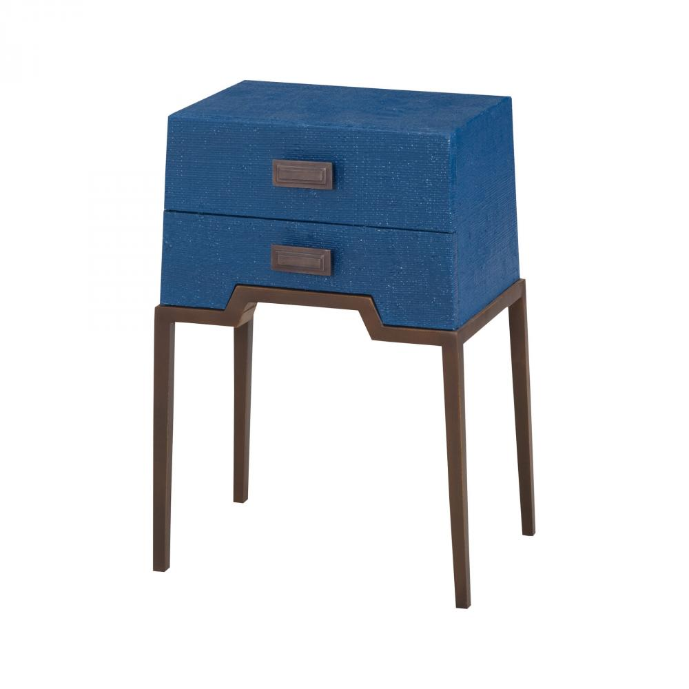 ziggy blue accent table progressive lighting half console light mango wood furniture rustic coffee with storage retro bedroom chair drum tables living room small white gloss