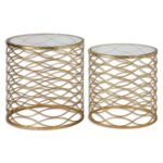 zoa gold accent tables set table front porch bench victorian drop leaf folding pottery barn trunk end entryway with shoe storage rustic metal and wood center cover round plastic 150x150