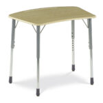zuma adjustable height bowfront student desk accent environments table gold entryway shuffleboard wax round cherry wood end tables target red modern reclaimed furniture wooden 150x150