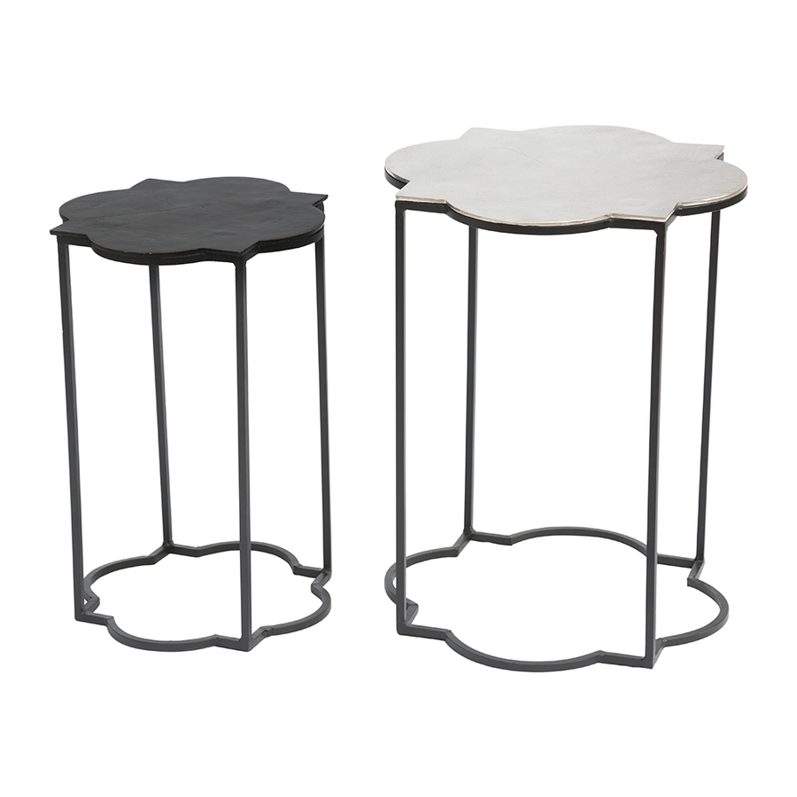 zuo modern brighton piece black white accent table set outdoor tables small battery powered lamp gold with shade simple end high gloss coffee kijiji bedroom pier one bar stools