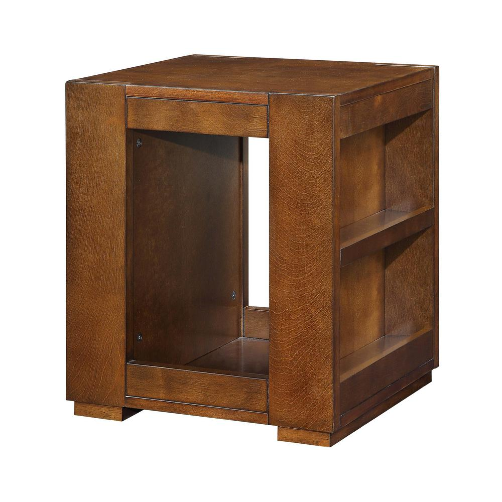 acme furniture pisanio espresso end table the tables fire with chairs ethan allen pads magnolia home furnishings retailers stanley cottage treasures lazy boy company brick glass