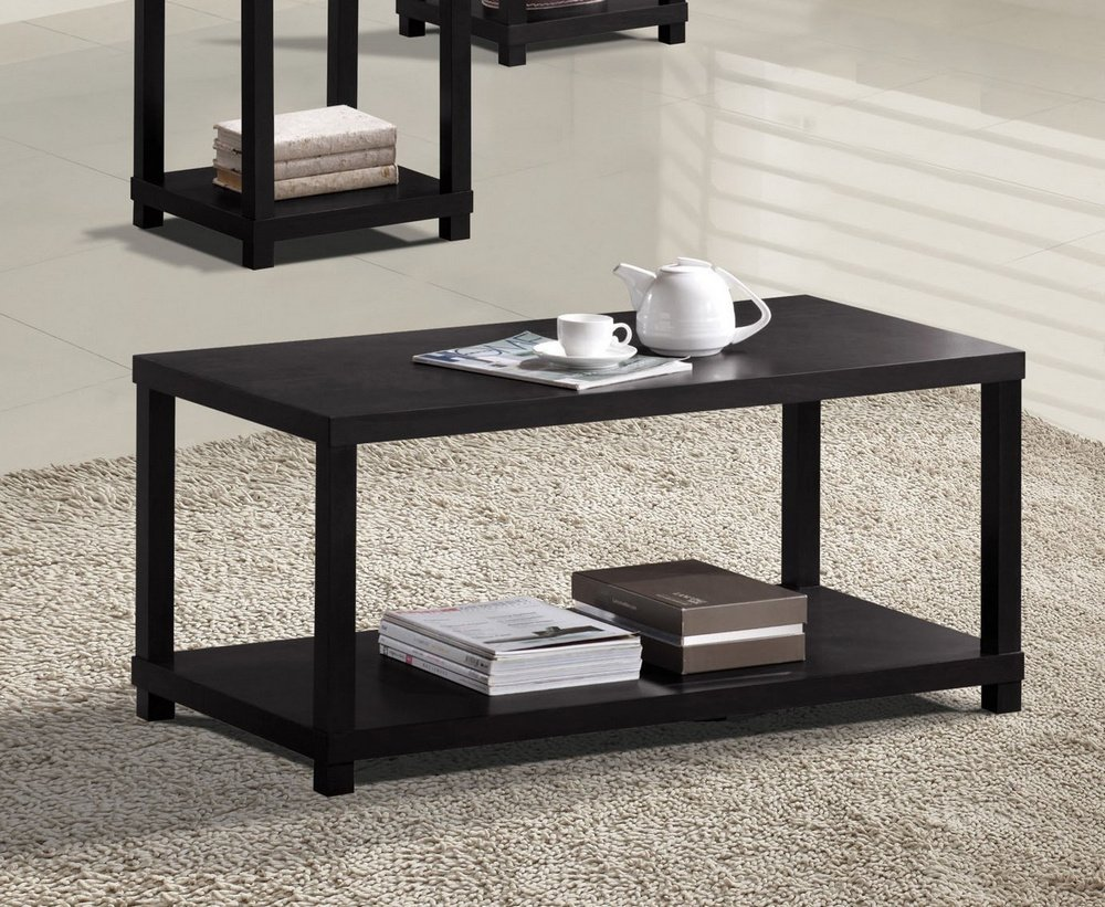 acme wei coffee table espresso finish kitchen dining trxfl end pipe desk kit mirrored side target ethan allen american traditional solid maple birch oak furniture york inch entry