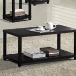 acme wei coffee table espresso finish kitchen dining trxfl end steel tube furniture dolphin lamp design italian antique pedestal styles allan heron lazy boy living room sets 150x150