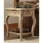 alaterre furniture rustic driftwood storage end table the tables contemporary style riverside sierra round coffee kmart outdoor patio bar designer nightstands unfinished mirrors 150x150