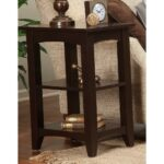 alaterre furniture shaker cottage chocolate storage end table tables brown the broyhill piece outdoor set small vintage bedside lift top cocktail ashley weathered diy bulb floor 150x150