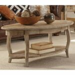 alaterre rustic reclaimed wood oval coffee table end tables furniture bear hollow west elm industrial mirror pine mission bedroom small console macys white vintage bedside 150x150