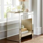 alexa mirrored nightstand pier glass bedroom end tables thank you laura ashley sets decorating with mismatched furniture media console garden table french provincial contemporary 150x150