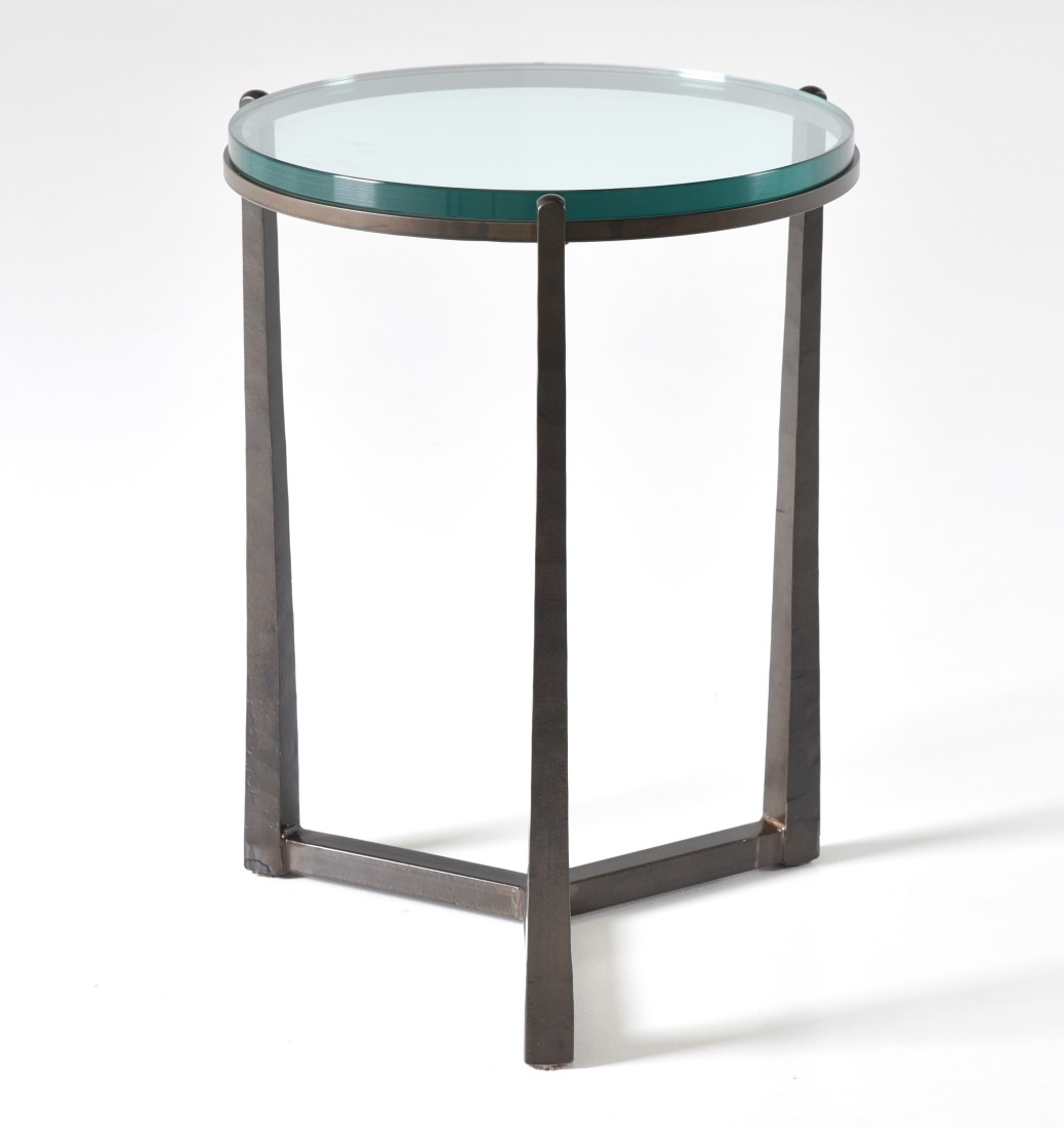 american furniture clemmons round glass top side table rond end inches iron tables with tops hampton bay brand storage royal southaven sofa console for dining laura ashley sofas