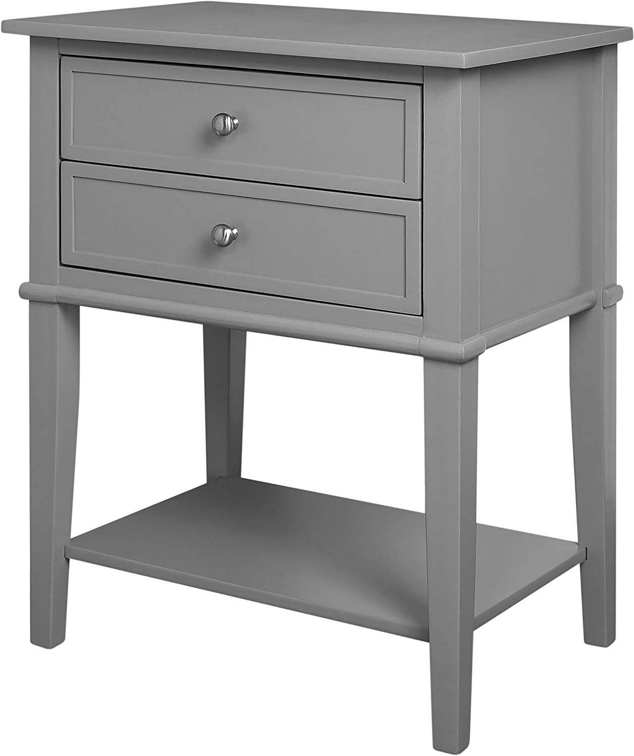ameriwood home franklin accent table with drawers fjnahl end gray kitchen dining mission side plans lawn and garden futon mattress topper bedroom lamps set stanley wood furniture