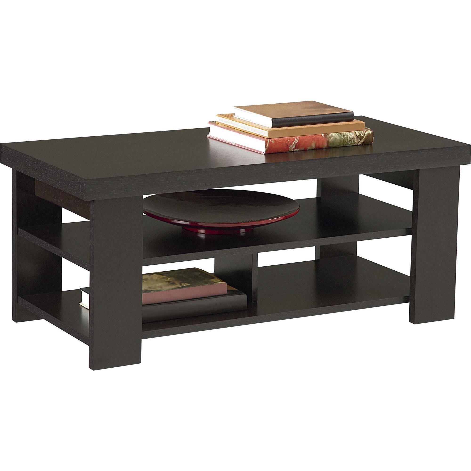 ameriwood home jensen coffee table multiple colors end espresso finish bedside cabinet unfinished armoire steel base the calendar still used today inch tall console diy pallet
