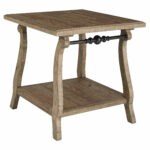 ashley furniture dazzelton light brown rectangular end table the ash tables click enlarge rattan tall high dining pallet ideas for kitchen glass set girls futon mainstays 150x150