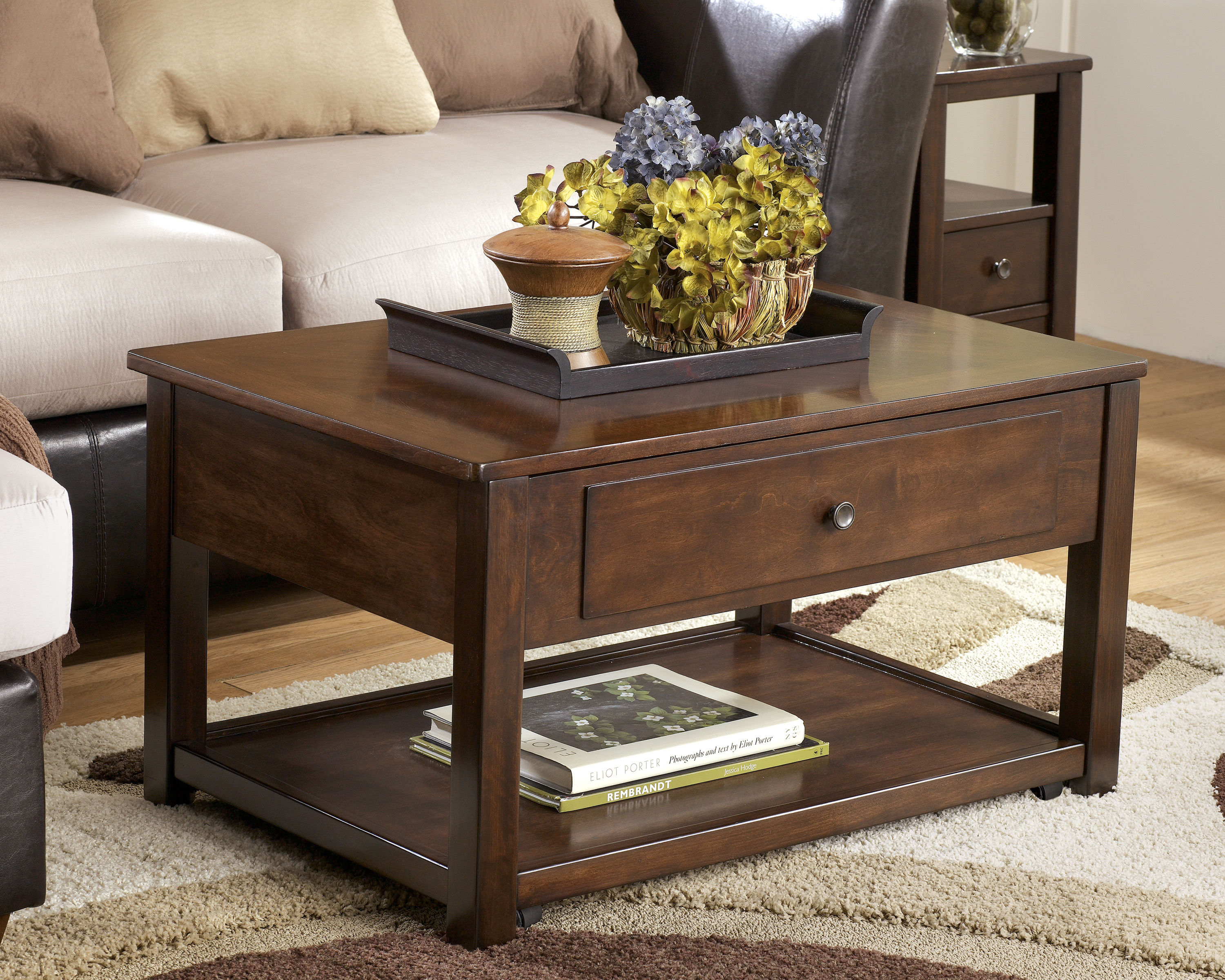 ashley furniture marion dark brown lift top cocktail table the end tables coffee click enlarge liberty rugs leather loveseat indoor wooden dog kennel plans stand small and lazy