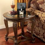 ashley furniture norcastle end table the classy home north shore click enlarge powell heirloom cherry jewelry armoire kmart summer reception inch black plastic water pipe ranch 150x150