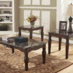 ashley furniture north shore rectangle coffee table set the marble top end tables click enlarge vintage round metal side high glass dining medium rustic wood pulaski edwardian 150x150