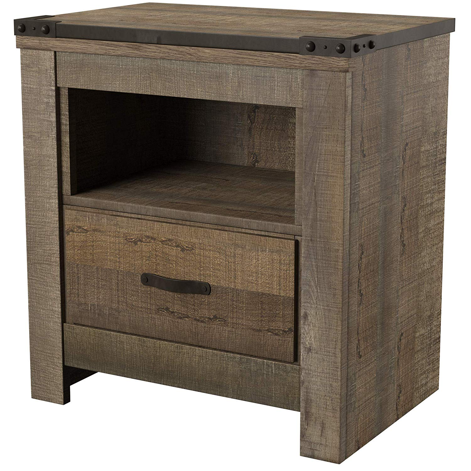 ashley furniture signature design trinell warm rustic hpmmpbnl bedroom end tables nightstand casual master table brown kitchen dining entrance leather center green outdoor side