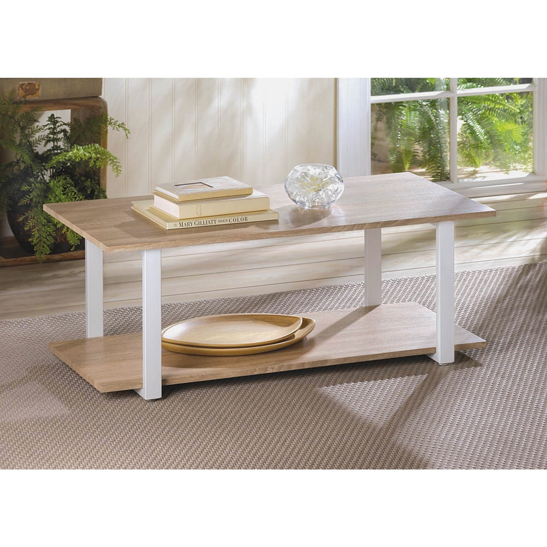 Ethan Allen Country Colors Coffee Table: Country Style Coffee And End Tables