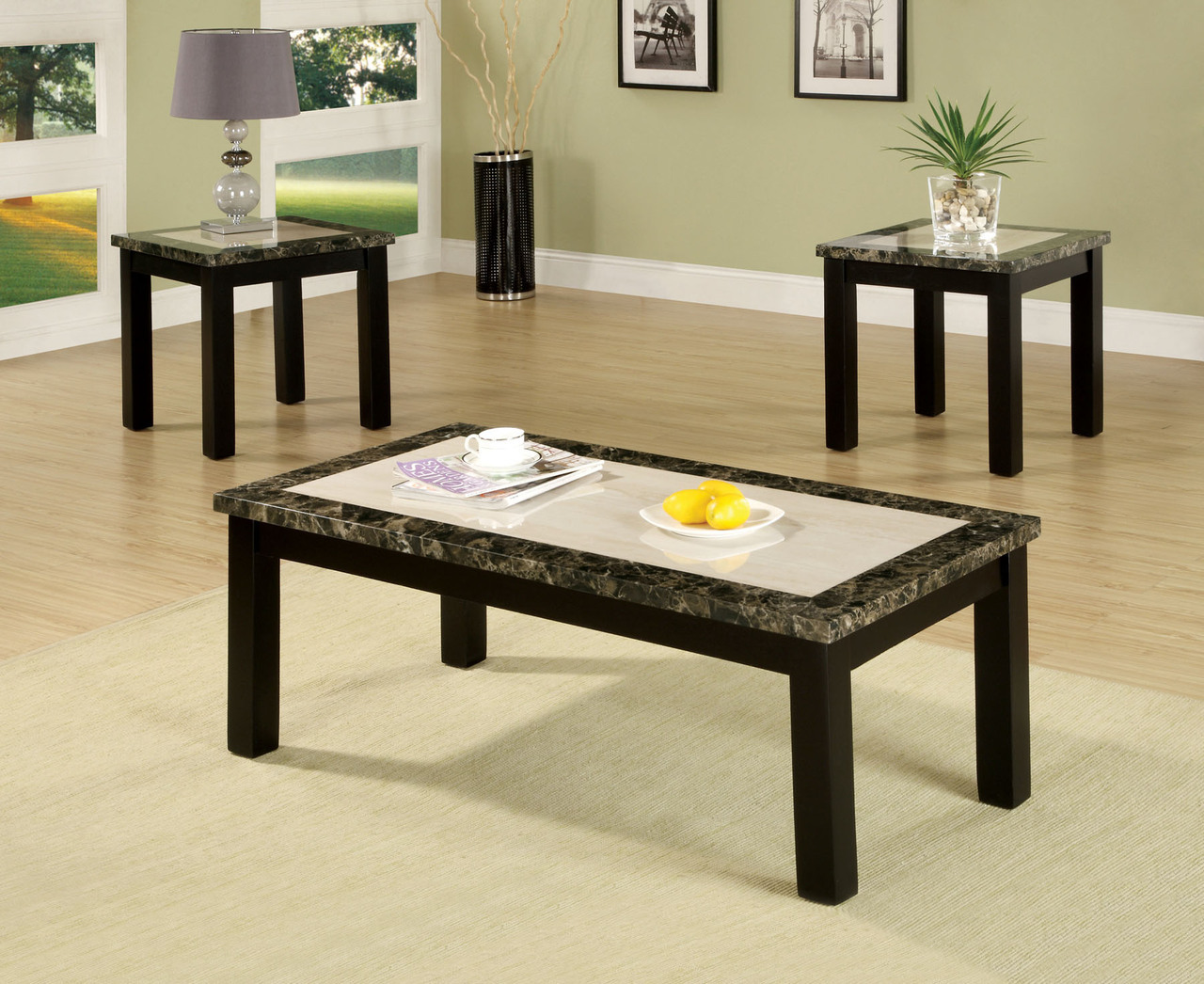 atlas black faux marble table top set coffee end tables and categories kmart baby clothes tempered glass furniture row jobs small round sofa rustic decor ashley hallway meijer