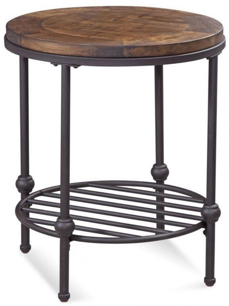 bassett mirror company boho distressed rustic barnside round end table main antique gold glass top living room tables uttermost home dining lamp target black side prophecy ashley
