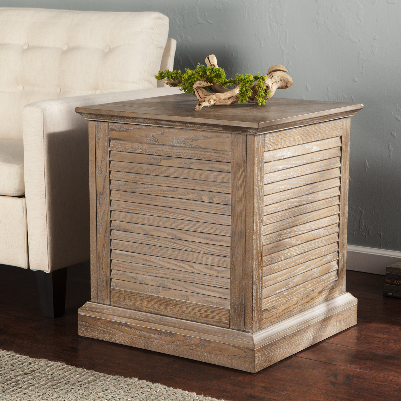 beachcrest home adreanna louvered trunk end table reviews proximity small console desk ethan allen furniture antique stackable tables standing lamp with decorating ideas for