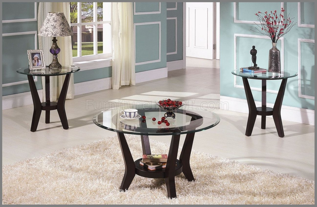 beautifull glass end tables and coffee dreamscroock charming brown cherry table set clear top wood black square patio ethan allen country french dining room rod iron side small
