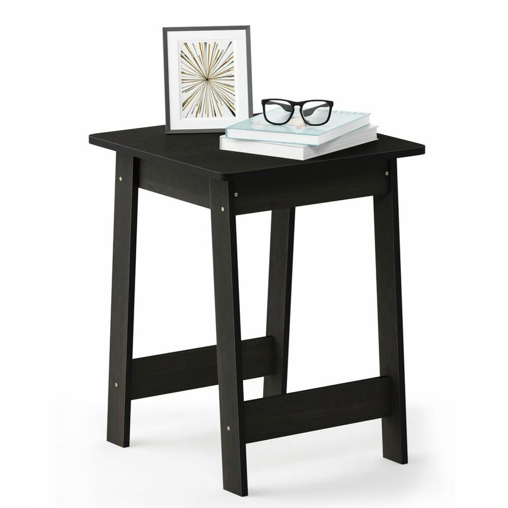 beginning dark espresso end table stylish elegant design for home details about and office stanley white furniture round coffee with stools sofa house fraser bedside lamps