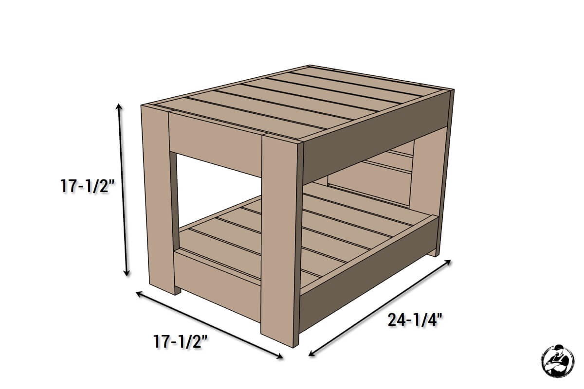 belvedere outdoor end table plans restoration hardware knock off diy dimensions childrens twin headboard pineapple magnussen ashby collection dining top ashley furniture martini