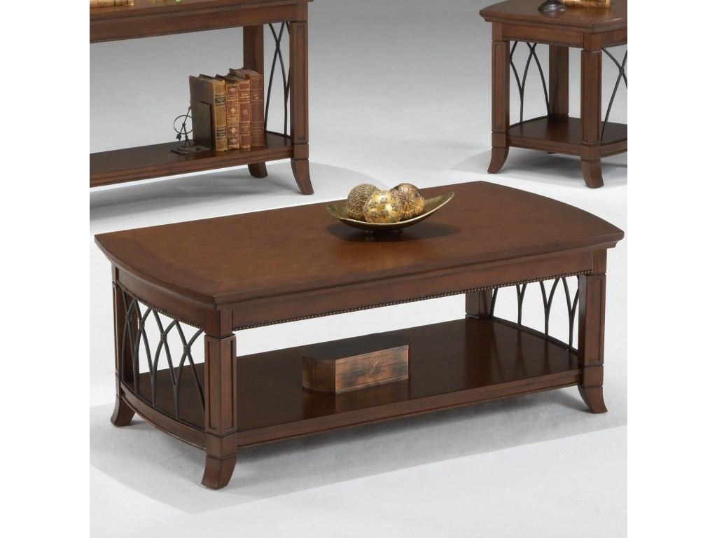 bernards cathedral cherry coffee table lower shelf wayside products color and end tables pallet wood furniture ideas lauren ashley clothing bronze glass top modern lamp for living