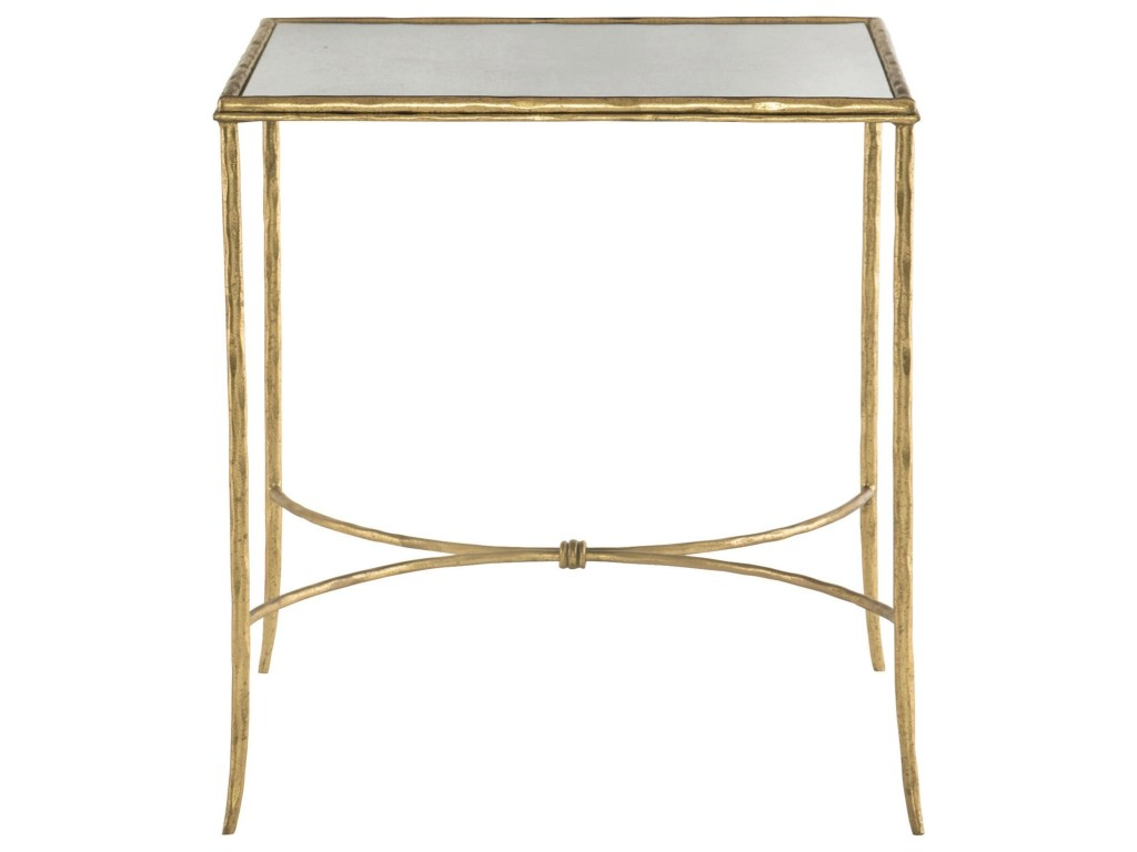 bernhardt evesham square metal end table with antique mirror products color glass top white nightstand wood outdoor what coffee goes brown leather couch resin side tables night