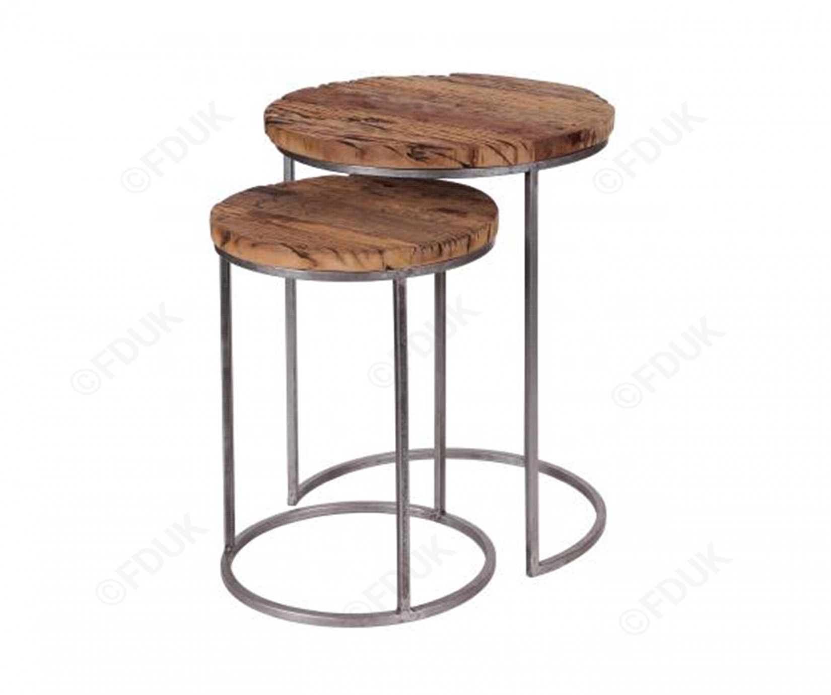 besp oak railway leather furniture round nest side tables fduk best end for guarantee short cocktail table west elm parsons acrylic nesting big lots living room sets white bedside