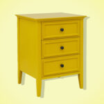 best bedside table from target end lede elkton three drawer this bright yellow nightstand bit garish but love whalen furniture coffee big lots throws ashley dining room marble 150x150