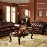 best brown leather sofa set designs for living room with paint end tables furniture wall colors ethan allen chairs used painted bedside table ideas big lots sets acrylic nesting 150x150