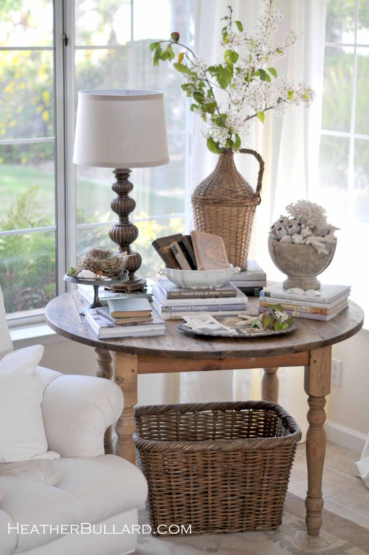 best for the home bathroom craft and ideas rustic corner accent table pretty vignette love how fills round tablerustic student desk bedroom mosaic garden chairs set furniture end