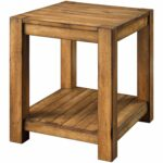 better homes and gardens bryant end table rustic brown tables finish kitchen dining tree log side wood furniture sofa with matching coffee riverside office round outdoor umbrella 150x150