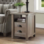 better homes and gardens granary modern farmhouse end table tables multiple finishes unfinished bedroom vanity small desk glass front bedside alternatives outdoor bbq side 150x150