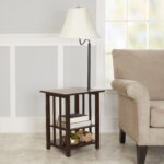 better homes gardens rack end table floor lamp espresso finish living room tables and lamps stanley furniture chairs average coffee measurements affordable rustic modern glass top 150x150