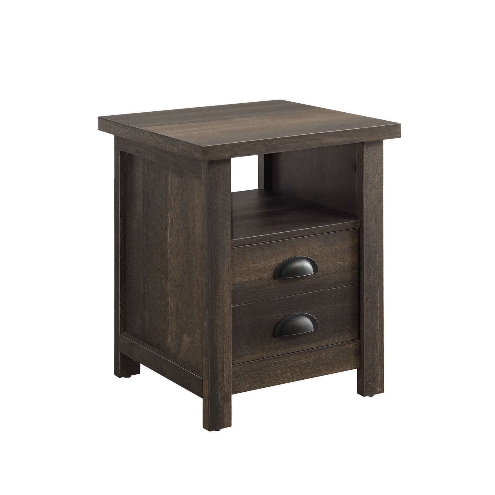 better homes modern farmhouse side table living room bedroom rustic grey end tables gray finish for sauder computer furniture large outdoor universal ltd taiwan kmart pool